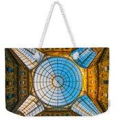 Vittorio Emanuele Gallery - Milan Weekender Tote Bag