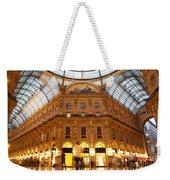 Vittorio Emanuele II Gallery Milan Italy Weekender Tote Bag