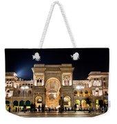 Vittorio Emanuele II Gallery Weekender Tote Bag by Michal Bednarek