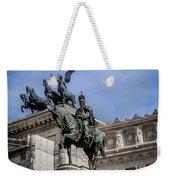 Vittorio Emanuele II Monument In Rome Weekender Tote Bag