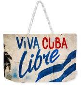 Viva Cuba Libre Sign Weekender Tote Bag