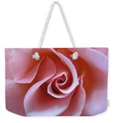 Vivacious Pink Rose 3 Weekender Tote Bag