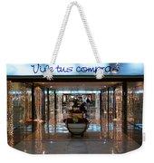 Vive Tus Compras Weekender Tote Bag