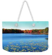 Vivid Fall Colors Weekender Tote Bag