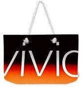 Vivid Weekender Tote Bag