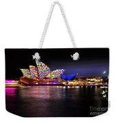 Vivid Sydney 2014 - Opera House 5 By Kaye Menner Weekender Tote Bag