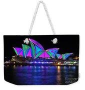 Vivid Sydney By Kaye Menner - Opera House... Patterns 2 Weekender Tote Bag