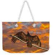 Vivid Vulture Weekender Tote Bag by Al Powell Photography USA