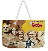 Vizsla Art Canvas Print - North By Northwest Movie Poster Weekender Tote Bag