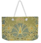 Voisey The Saladin Weekender Tote Bag by William Morris