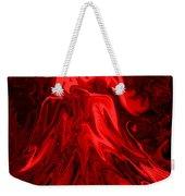 Red Volcanic Dreams Weekender Tote Bag