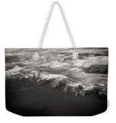 Volcano Ash Iceland Weekender Tote Bag