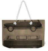 Volkswagen Advertisement Weekender Tote Bag
