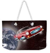 Volvo P1800 Goes Back To The Future Weekender Tote Bag