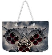 Vostok Rocket Engine Weekender Tote Bag