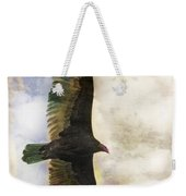 Vulture In Color Weekender Tote Bag