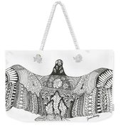 Vulture Wild Ink Weekender Tote Bag
