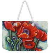 Vying For Attention 2 Weekender Tote Bag