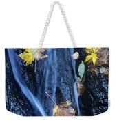 Wachlella Falls Detail Columbia River Gorge Weekender Tote Bag