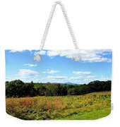 Wachusett Mountain From Tower Hill Weekender Tote Bag