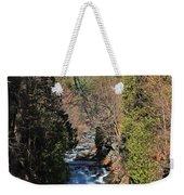 Wachusett Reservoir Spillway 2 Weekender Tote Bag