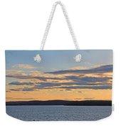 Wachusett Reservoir Sunset Weekender Tote Bag