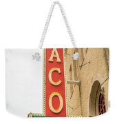 Waco Movie Theater With Sign, Waco Weekender Tote Bag