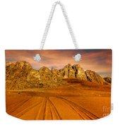 Wadi Rum Jordan Weekender Tote Bag by Dan Yeger