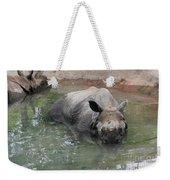 Wading Rhinos Weekender Tote Bag