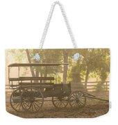 Wagon - Abe's Buggie Weekender Tote Bag by Mike Savad