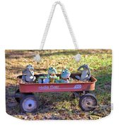 Wagon Full Of Frogs Weekender Tote Bag