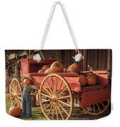 Wagon Full Of Pumpkins Weekender Tote Bag