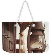 Wagon Lantern Weekender Tote Bag