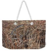 Wagon Wheel_7438 Weekender Tote Bag
