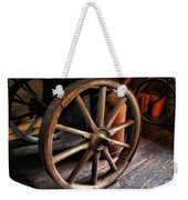 Wagon Wheels Weekender Tote Bag