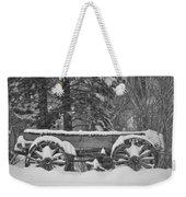 Wagon Wheels June Lake Weekender Tote Bag