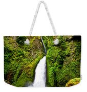 Wahclella Falls In Oregon Weekender Tote Bag