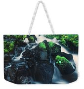 Wahkeenah Falls Columbia River Gorge Nsa Oregon Weekender Tote Bag