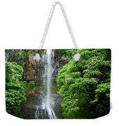 Waikani Falls At Wailua Maui Hawaii Weekender Tote Bag