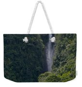 Wailua Stream Waiokane Falls View From Wailua Maui Hawaii Weekender Tote Bag
