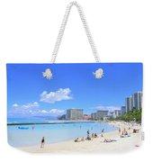 Waikiki Beach Weekender Tote Bag