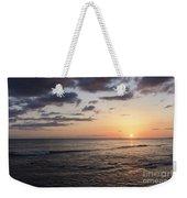 Waikiki Sunset Weekender Tote Bag