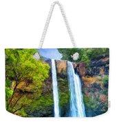 Wailua Falls Kauai Weekender Tote Bag