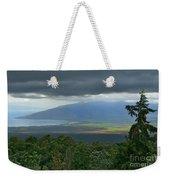 Waipoli Kula View Of West Maui From Haleakala Weekender Tote Bag
