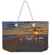 Wait At Our Spot Weekender Tote Bag
