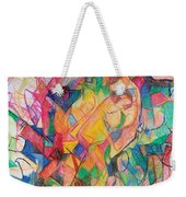 Waiting According To Intuition 1 Weekender Tote Bag
