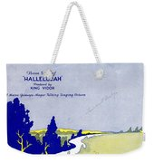 Waiting At The End Of The Road Weekender Tote Bag