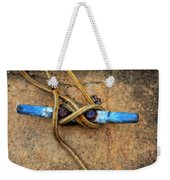 Waiting - Boat Tie Cleat By Sharon Cummings Weekender Tote Bag