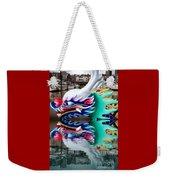 Waiting Dragon Reflect  Weekender Tote Bag