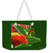 Waiting For A Date Weekender Tote Bag
